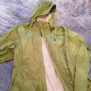 Waterproof Eddie Bauer Jacket Green